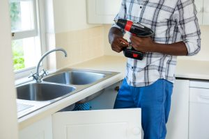 Clogged kitchen sinks can be caused by improper installation.