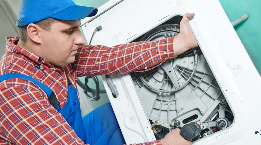 Washing machine plumbing professionals can do the job right.