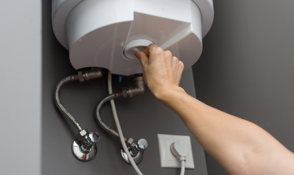 A water heater leak poses a lot of danger.