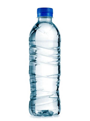 Don't buy plastic bottled water. It's not good for the environment.