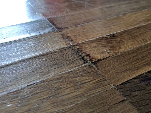 There are many flooring issues that can be fixed with hardwood floor refinishing.