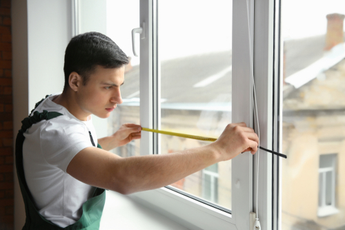 Professional home window installers can create custom windows for you.